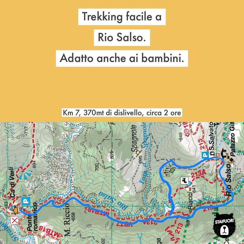 trekking facile a rio salso